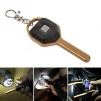 Mini Key Shape Light 2 Modes Flashlight LED Torch Lamp Outdoor Camping Lighting