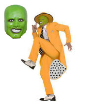 The Mask Jim Carrey Fancy Dress Deluxe 90s Gangster Zoot Suit Costume W/Mask!!