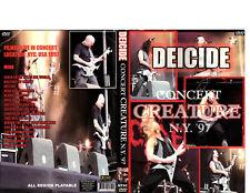 Deicide-Concert Creature/LIVE-DVD/Rare!