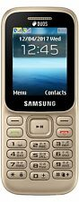 Samsung Guru Music 2 (Gold) Feature Phone Cell Phone,Keypad Phone,Mobile Phone