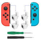 4-pack Alloy Buckle Lock for NS Nintendo Switch NX Joy-Con Controller +2 Screwer
