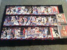 1994 Classic Hockey Complete Autograph Set (40 cards) Neely Gilmour  Rheaume COA