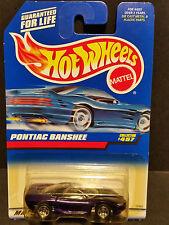 1996 Hot Wheels #457 : Pontiac Banshee Purple w/5 Spoke Rims - 15965