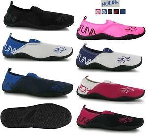 HOT TUNA Mens Women Junior Aqua Beach Swim Water Wet Shoes Sea Surf Pool Sz:3-15