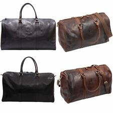 Underwood & Tanner Belgravia Leather Large / Medium Classic Holdall Luggage