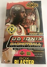 1998-99 Upper Deck Ionix Basketball NBA Premiere Edition Sealed Box Jordan Auto?