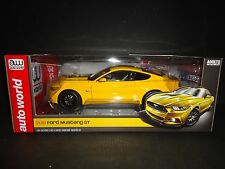 Auto World Ford Ford Mustang GT 2016 Yellow 1/18