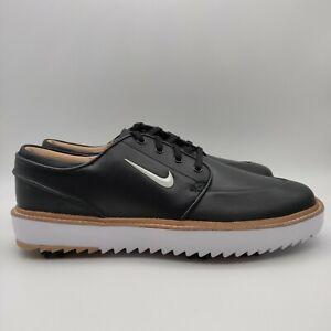 Nike Janoski G Tour Men's Size 10 Leather Golf Shoes Black/White/Gum BV8070-001
