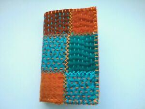 Needle Book/Needle Case patchwork kantha Indian handmade