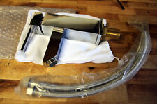 Design Einhebelmischer Wasserhahn Waschtischarmatur Waschbecken eckig Bad