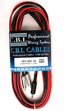 C.B.I. MY-505 20' Feet Y iPod Cable 3.5 mm Male to Dual RCA Male (M to M) Stereo