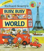 Richard Scarry's Busy, Busy World, Hardcover by Scarry, Richard, Brand New, F...