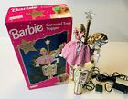 Mr Christmas BARBIE Carousel Horse Tree Topper with Motion and Star Light