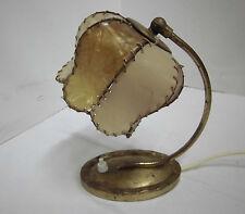 30/40er Lámpara de mesa pie latón mediados Century 30s 40s VINTAGE