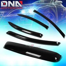 FOR 06-11 CIVIC 4DR FA1/5 SMOKE TINT WINDOW+SUN/MOON ROOF VISOR SHADE/DEFLECTOR