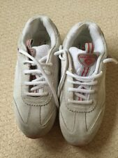 O'Neill Vintage Cream And Red Trainers Size 5.5