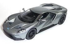 ganz neu: FORD GT 2017 Sammlermodell anthrazit ca. 12,5cm Neuware von KINSMART