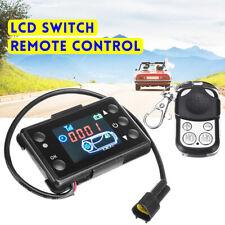RV 3/5KW LCD Monitor & Interruptor De Control Remoto De Ajuste Coche Diésel Aire Calentador de estacionamiento Reino Unido