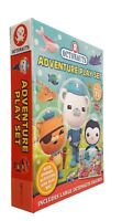 Octonauts Adventure Play Busy Set with Book & Toys 3 Figurines Paper Mat New