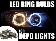 16 X 286 Canbus LED Bulbs For BMW 1 Series E82 E87 E81 Depo Angel Eye Headlights