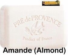 Pre de Provence AMANDE (Almond) Scent French Soap 250 Gram Bath Shower Bar Shea