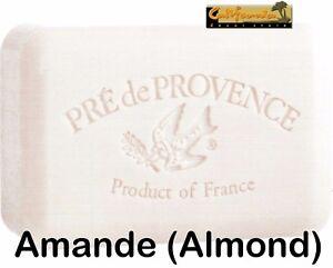 Pre de Provence AMANDE Almond French Soap 250 Gram Bath Shower Bar Shea Butter