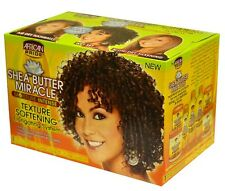 African Pride Shea butter Miracle Texture Softening Elongating System