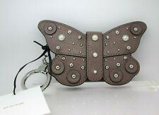 Kate Spade Larchmont Ave Butterfly Card Case Wallet Key Ring WLRU5231