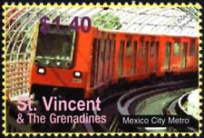 MEXICO CITY METRO (STC / Subway / Underground Railway) Train Stamp