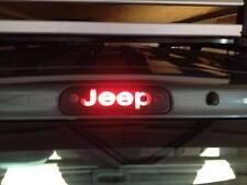 "jeep grand cherokee wj /wg brake light ""jeep"" sticker - matt vinyl"