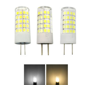 G4/G8/GY6.35 Led Light Bulb 5W 64-2835 SMD Lamp 110V / 220V / 12V Ceramics Light