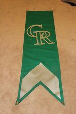 Colorado Rockies Game Used BANNER FROM COORS FIELD RARE!!!!!