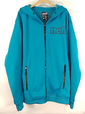Mens Neff Daily Shredder Turquoise Snowboard Style Jacket - Size Large