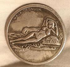 Da Vinci Silver Coin Leonardo Naked Lady 1452 1519 Mona Lisa Artist Old Maestro