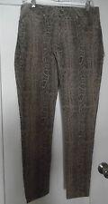 Sold  Design Lab Soho Super Skinny Sankeskin Print Jeans Size 29 Nwt