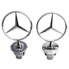 Mercedes-Benz Front Hood Ornament Mounted Star Logo Badge Emblem C E S Series Us