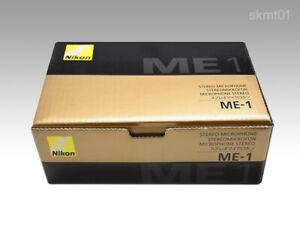 Nikon ME-1 Stéréo Microphone pour Digital Caméras Avec Vent Écran Japon DHL Fast