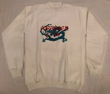 Mens Size: Lg, 1990's VTG White Sweatshirt from the FORBIDDEN CITY in China! EUC