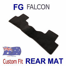 To suit FORD Falcon FG Sedan Tailored 1pc REAR ONLY Floor Car Mat Black Carpet