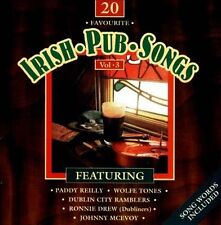 20 Favourite Irish Pub Songs, Vol. 3 by Various Artists (CD, May-1999,...