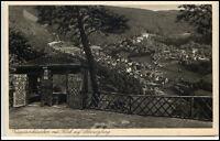 Schwarzburg Thüringen Ansichtskarte ~1920/30 Trippsteinhäuschen Panorama Blick