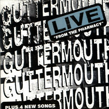 GUTTERMOUTH Live From The Pharmacy CD NEW PROMO PUNK ROCK NITRO