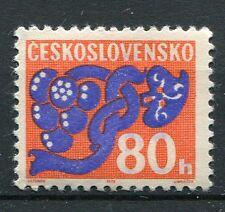 TCHECOSLOVAQUIE - 1972, timbre TAXE 107, FLEURS, neuf**