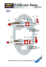 LF Models 1/48 NORTH AMERICAN P-51B MUSTANG Swiss Air Force Paint Mask Set