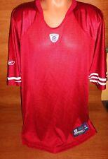 Mens M San Francisco 49ers Football Team Jersey REEBOK Onfield Blank Red Lot