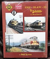 MORNING SUN BOOKS - ERIE - DL&W - EL TRACKSIDE In Color - HC 128 Pages