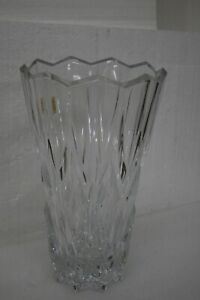 JG Durand Cristal Cathedral Vase 24% lead crystal BRAND NEW Made in France
