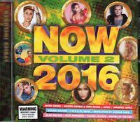 Now 2016 CD Vol. 2 (Ellie Goulding/Ariana Grande/Pitbull/Flo Rida/John Legend)