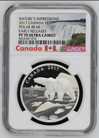 2017 Canada 'Nature's Impressions' | POLAR BEAR | NGC PF 70 UC | Early Releases