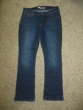 OLD NAVY Sweetheart JEANS Pants Size 10 Regular Bootcut Dark Wash EUC Women's